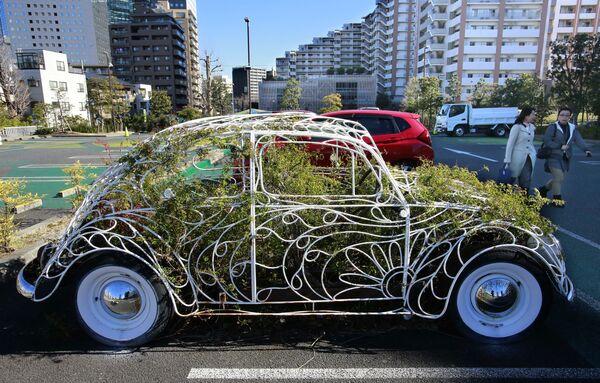 Сможет ли Жук снова ожить, как это сделали японские дизайнеры в своей художественной инсталляции в Кавасаки? - Sputnik Беларусь