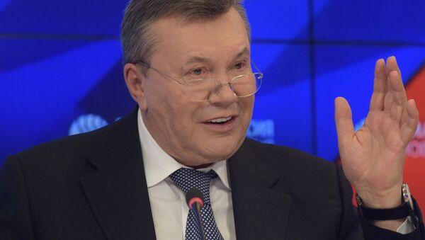Экс-президент Украины Виктор Янукович - Sputnik Беларусь