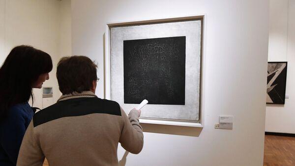 Картина Чёрный квадрат художника Казимира Малевича - Sputnik Беларусь