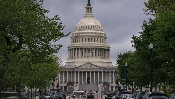 Здание Капитолия в Вашингтоне - Sputnik Беларусь