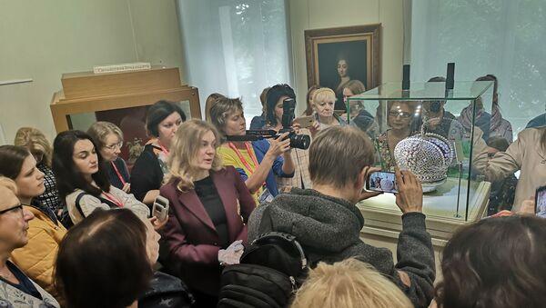 Рэпліку расійскай кароны прадставілі ў рамках Славянскага базару - Sputnik Беларусь