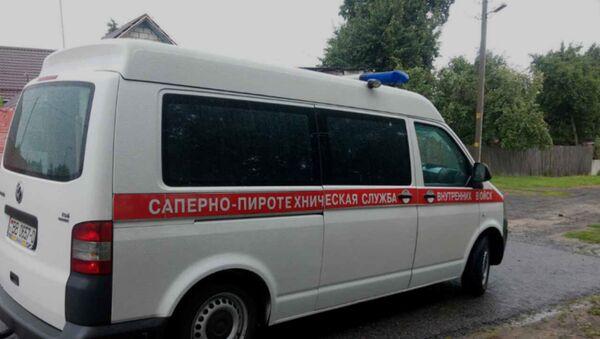 Машина саперно-пиротехнической службы - Sputnik Беларусь