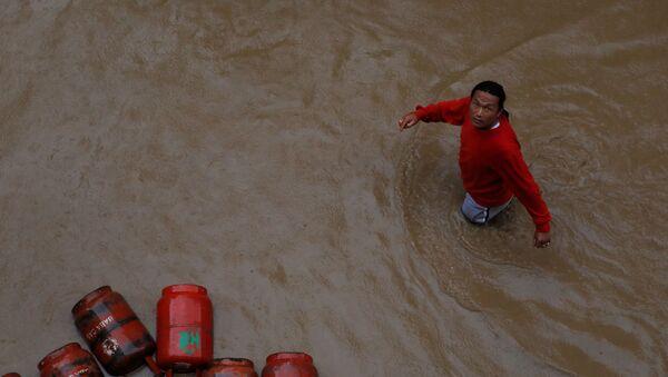 Наводнения в Непале - Sputnik Беларусь