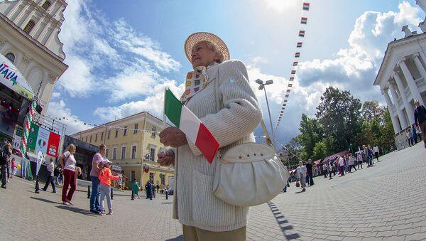 Праздник дружбы Италия-Беларусь - Sputnik Беларусь