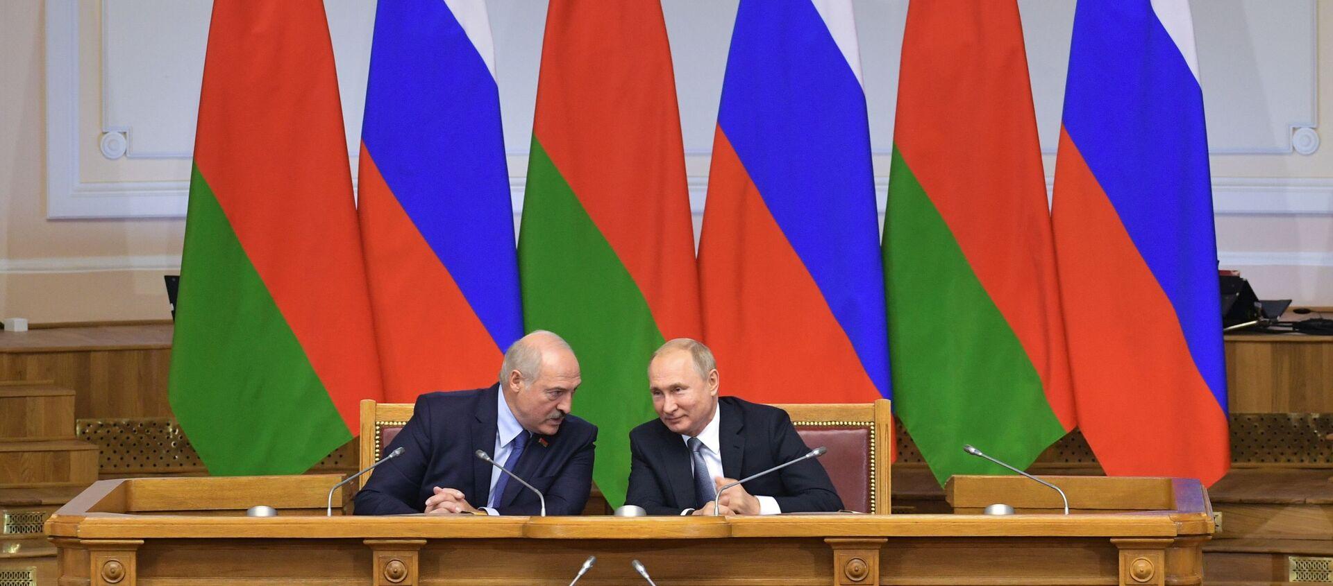 Встреча Лукашенко и Путина в Таврическом дворце - Sputnik Беларусь, 1920, 21.02.2021