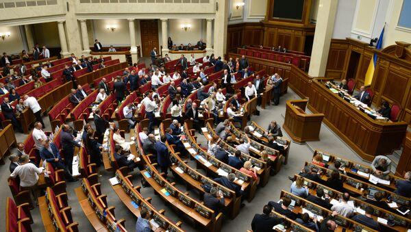 Внеочередное заседание Верховной рады Украины - Sputnik Беларусь