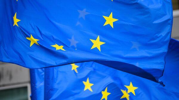 Флаги с символикой Евросоюза - Sputnik Беларусь