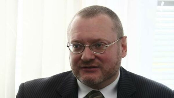 Генеральный директор Международного фонда Владимира Гостюхина Андрей Лопацкий  - Sputnik Беларусь