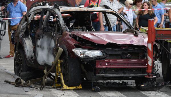Журналист Павел Шеремет погиб в результате взрыва автомобиля в Киеве - Sputnik Беларусь