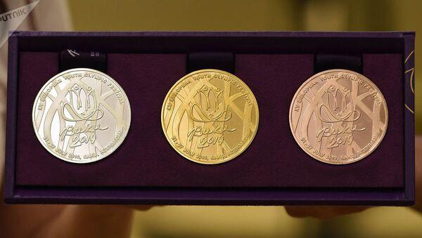 Медали XV Европейского юношеского летнего олимпийского фестиваля Баку 2019  - Sputnik Беларусь