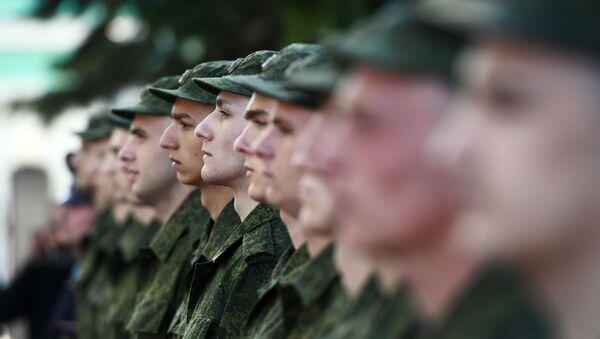 Адпраўка прызыўнікоў на службу - Sputnik Беларусь