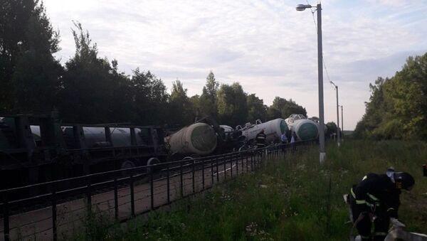 Цистерны сошли с рельсов в Витебской области - Sputnik Беларусь