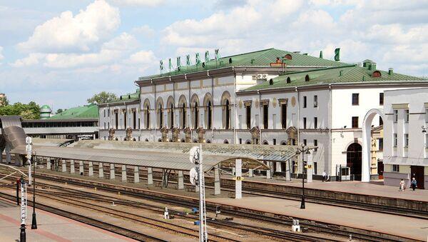 Железнодорожный вокзал в Витебске - Sputnik Беларусь