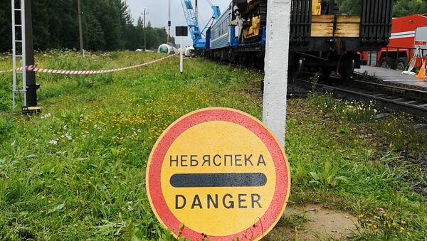 15 цистерн со сжиженным газом сошли с рельсов в Витебском районе - Sputnik Беларусь
