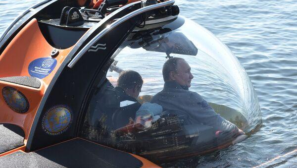 Президент России Владимир Путин посетил остров Гогланд - Sputnik Беларусь