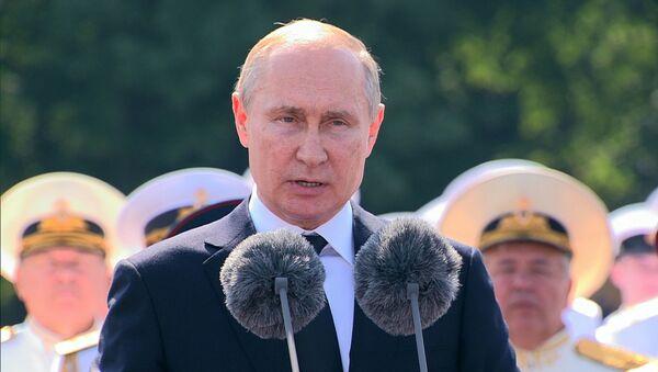 Пуцін павіншаваў ваенных маракоў са святам - Sputnik Беларусь