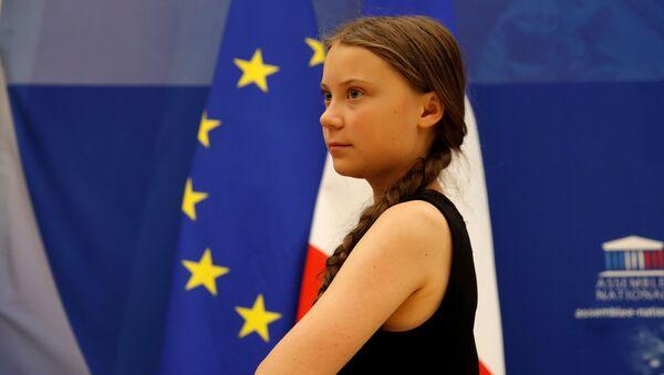 Шведская школьница и экологическая активистка Грета Тунберг - Sputnik Беларусь