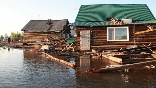 Ситуация в зоне подтопления в Иркутской области - Sputnik Беларусь