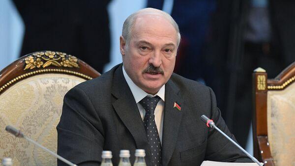 Президент Беларуси Александр Лукашенко на заседании Высшего Евразийского экономического совета - Sputnik Беларусь