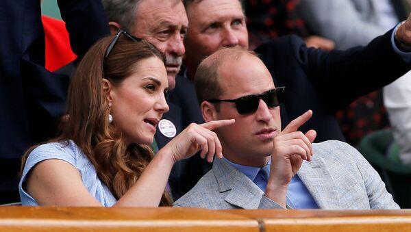 Принц Уильям и его супруга Кейт Миддлтон - Sputnik Беларусь