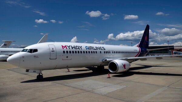 Самалёт грузінскай авіякампаніі MyWay Airlines - Sputnik Беларусь