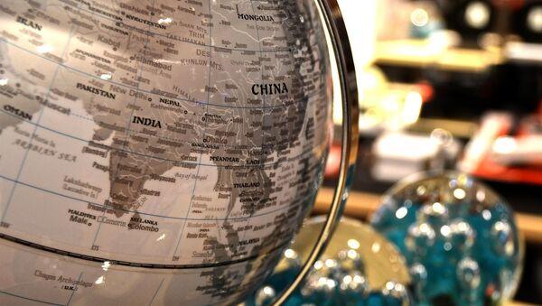 Китай на глобусе, архивное фото - Sputnik Беларусь