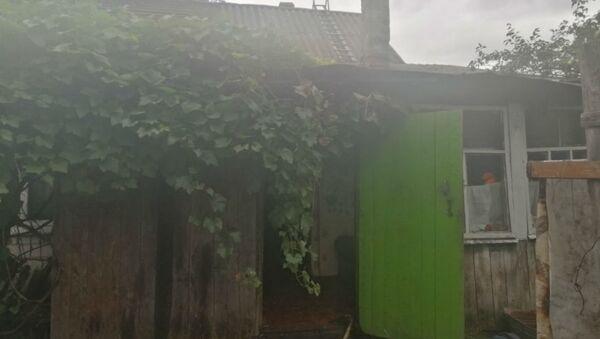 Жилой дом горел в Рогачеве  - Sputnik Беларусь