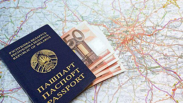 Деньги в паспорте - Sputnik Беларусь