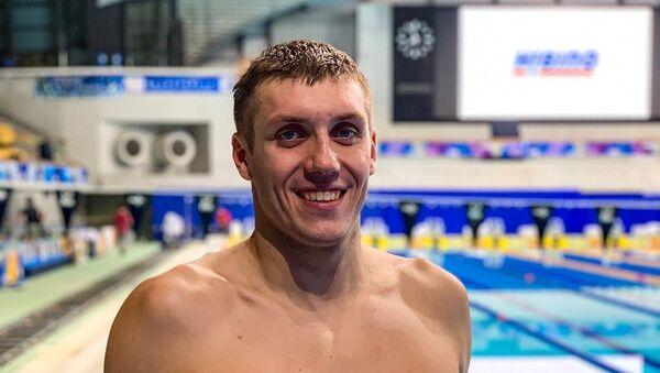 Пловец Илья Шиманович  - Sputnik Беларусь