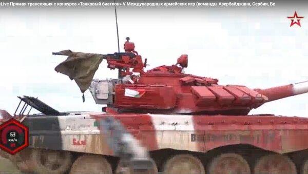 Трэці дзень АрМГ-2019: беларускія танкісты былі другія – відэа - Sputnik Беларусь