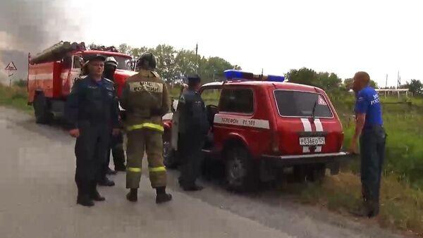 На территории воинской части в Красноярском крае произошел взрыв - Sputnik Беларусь