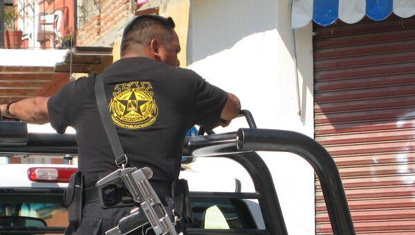 Полиция Мексики, архивное фото - Sputnik Беларусь