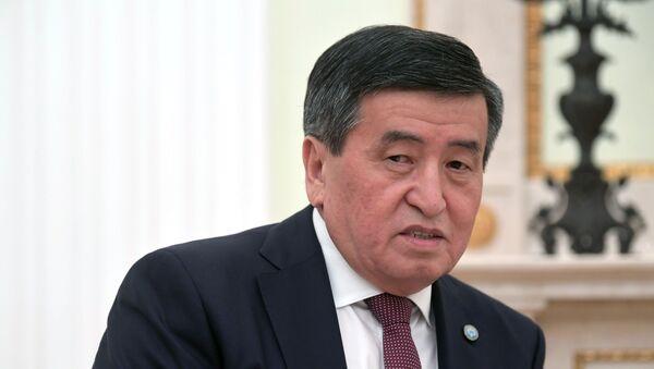 Прэзідэнт Кыргызстана Сааранбай Жээнбекаў - Sputnik Беларусь