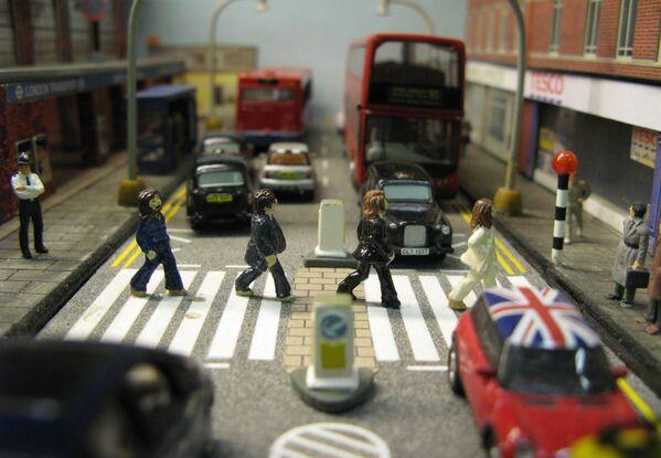 Эбби-Роуд и The Beatles в лондонском музее транспорта Acton Depot - Sputnik Беларусь