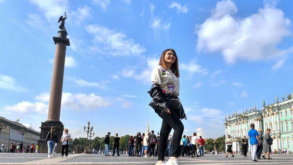 Участники конкурса Ты супер! посетили Санкт—Петербург - Sputnik Беларусь