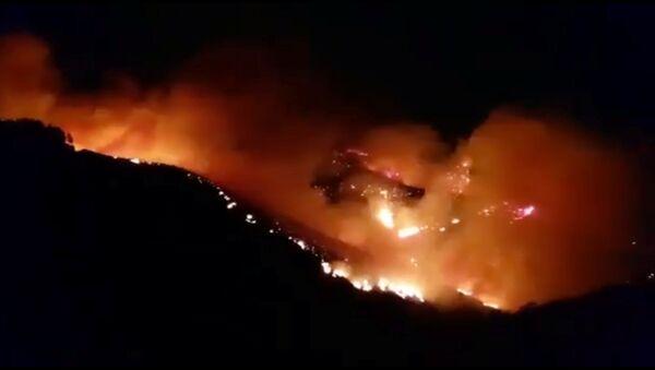 Пожар на острове Гран-Канария - Sputnik Беларусь
