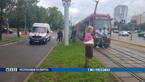 Девочка попала под трамвай в Минске - Sputnik Беларусь