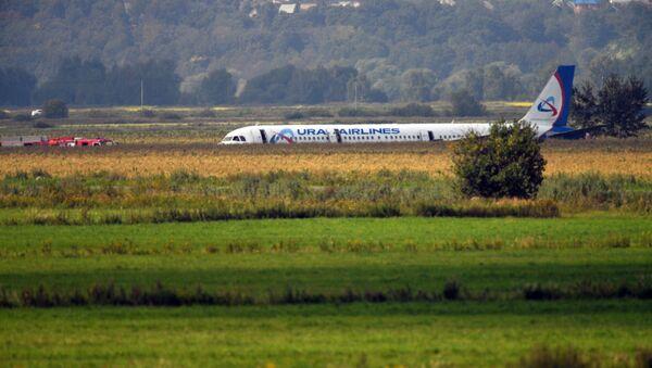 Пассажирский самолет совершил аварийную посадку в Подмосковье - Sputnik Беларусь