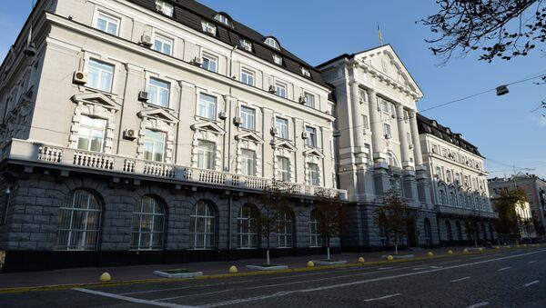 Здание Службы безопасности Украины в Киеве - Sputnik Беларусь