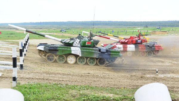 Танковый биатлон 2019 - Sputnik Беларусь