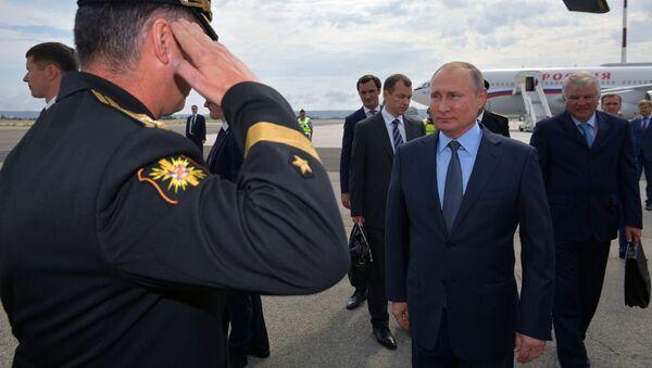 Рабочий визит президента РФ В. Путина во Францию - Sputnik Беларусь