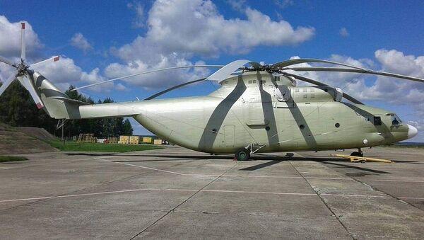 Упраўленне ваенна-паветраных сілаў і СПА Міністэрства абароны прадае верталёт МІ-26 - Sputnik Беларусь