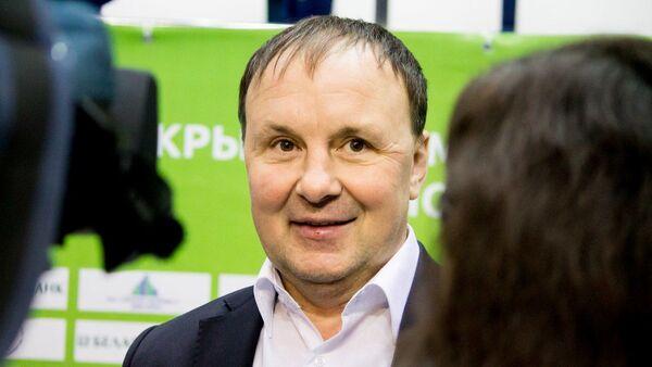Главный тренер сборной Беларуси по хоккею Михаил Захаров - Sputnik Беларусь