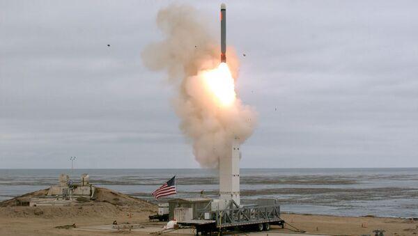 Власти США опубликовали видео испытаний запрещенной ракеты - Sputnik Беларусь