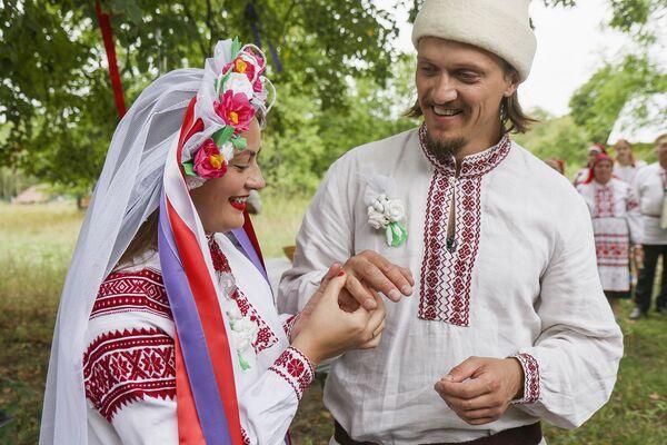 Традиционная белорусская свадьба - Sputnik Беларусь