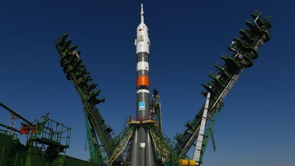 Вываз РН Саюз-2.1а на стартавую пляцоўку - Sputnik Беларусь