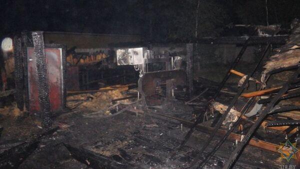 Пожар на пилораме ликвидировали спасатели под Могилевом - Sputnik Беларусь