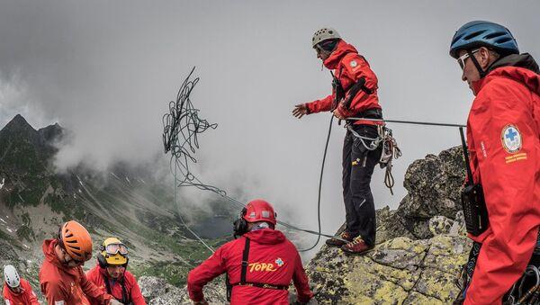 Спасатели в Татрах - Sputnik Беларусь