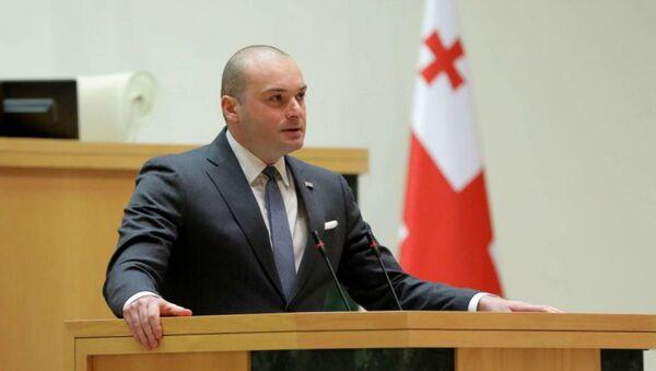 Премьер-министр Грузии Мамука Бахтадзе   - Sputnik Беларусь