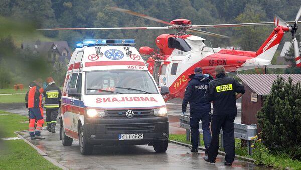 Спасательная операция в Татрах - Sputnik Беларусь